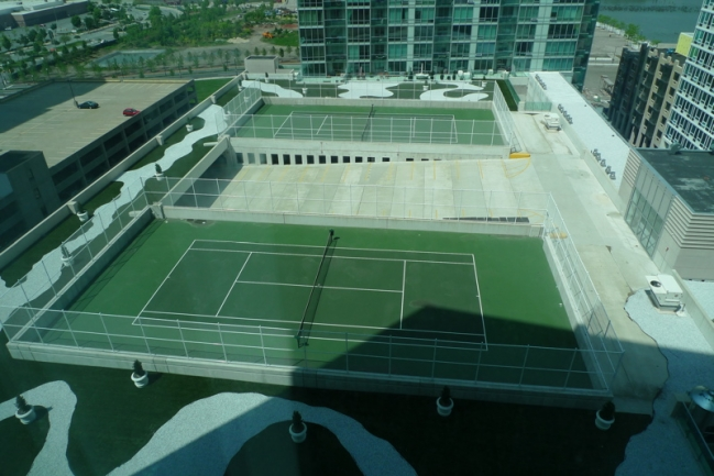 Shore Club Tennis Court in Jersey City, NJ