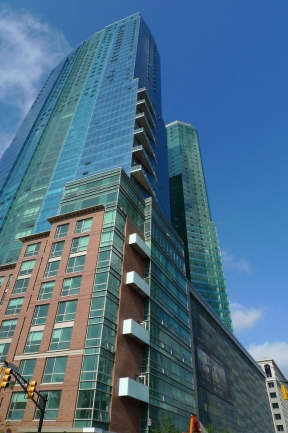 77 Hudson is a Glass Structure in Jersey City, NJ