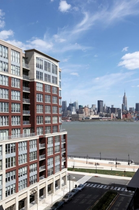 Generous Amounts of Windows Allows Maxwell Place Residents to Enjoy the Hoboken, NJ View