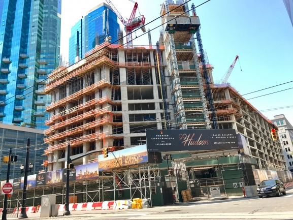 99 Hudson Will Become Part of the Amazing Skyline of Jersey City